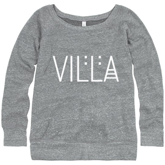 Ladies Villa Name Relaxed Fit Sweatshirt
