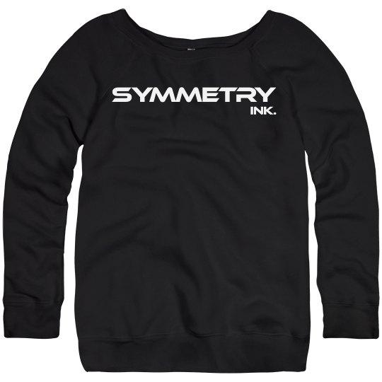 Ladies Wideneck Sweatshirt