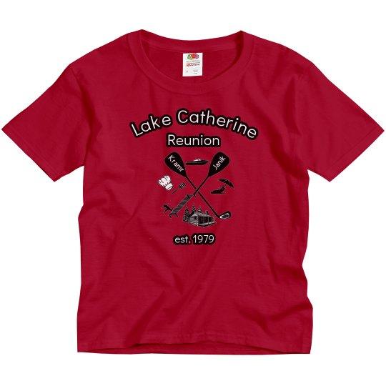 Lake Catherine 40 year reunion - Youth