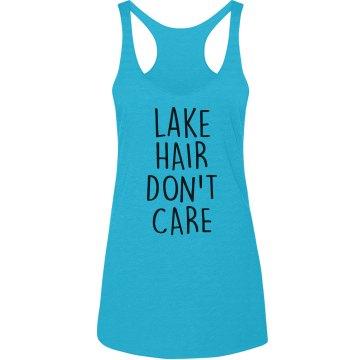 Lake Hair Don't Care Tank top