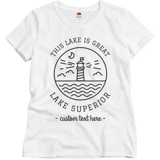 Lake it Easy Custom Lake Vacation Trip Shirts