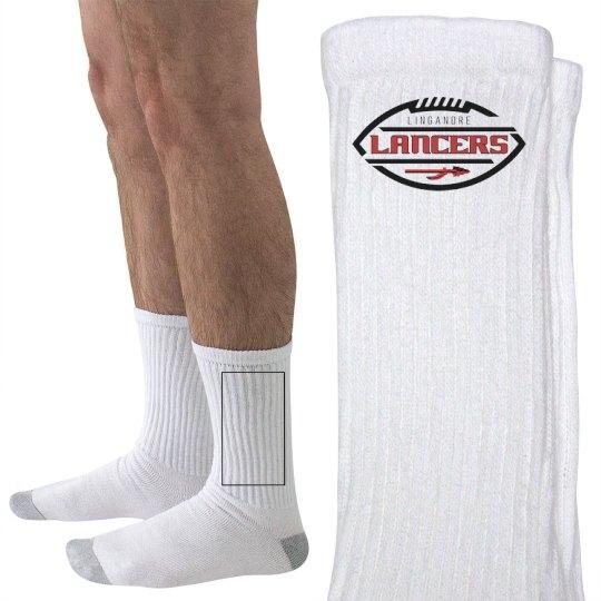 Lancers Football Crew Socks