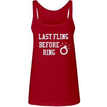 Last Fling Before Ring Tank