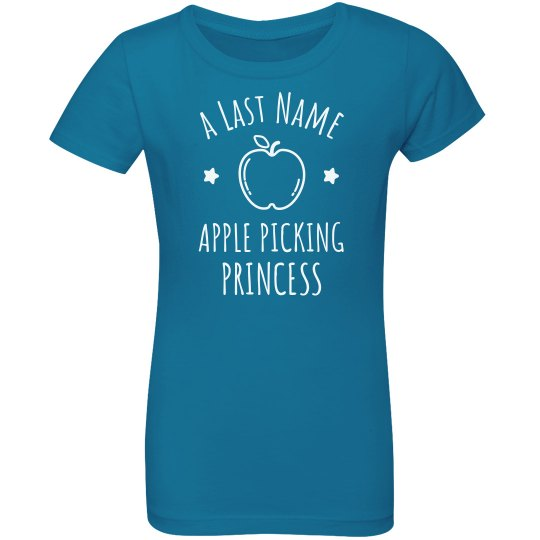 Last Name Apple Picking Princess