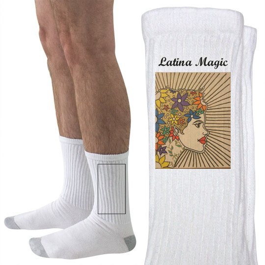 Latina Magic Socks- Jazzy Art