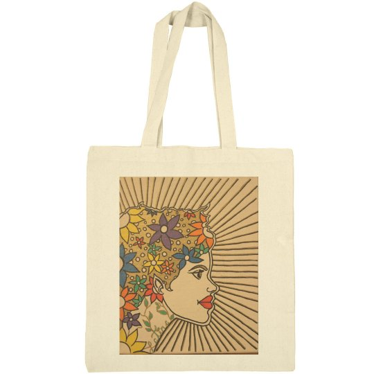 Latina Magic Tote Bag- Jazzy Art