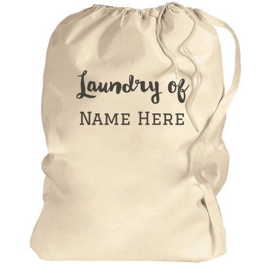 Laundry of Custom Name