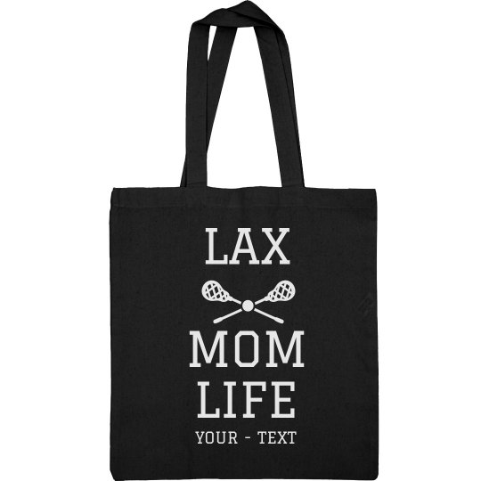 Lax Mom Life Custom Tote