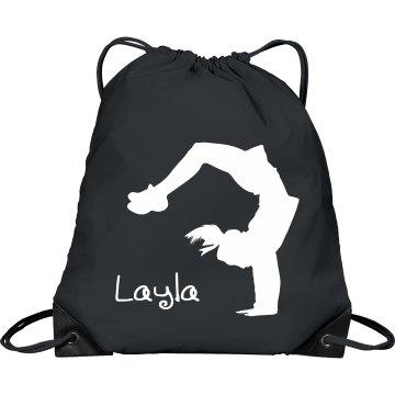 Layla cheerleader bag