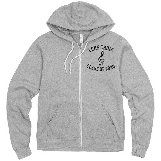 LCMS 8th grade choir sweatshirt