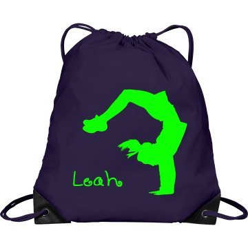 Leah cheerleader bag