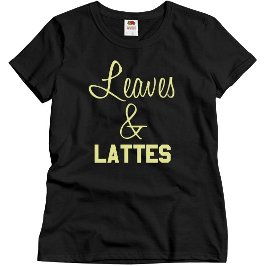 Leaves & Lattes Top