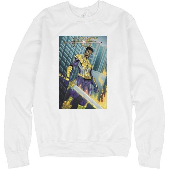 Legacy A.D. Comic Book Cover Sweatshirt