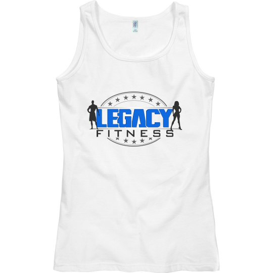 Legacy Ladies Semi Fitted Tank - White