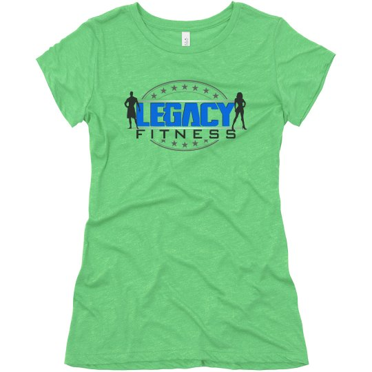 Legacy Ladies Super Soft Relaxed Triblend Tee