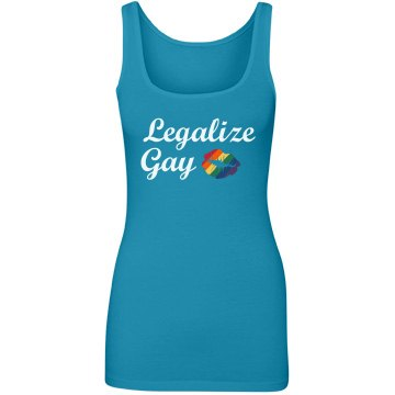 Legalize Gay Custom Tank