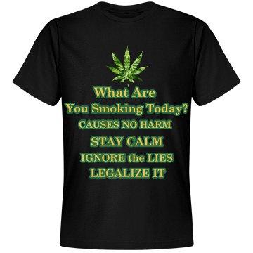 Legalize It Unisex Tee