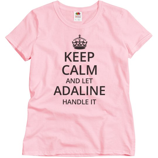 Let adaline handle it