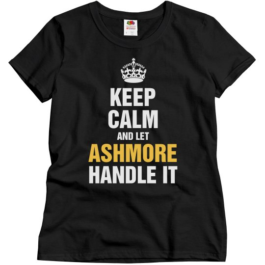 Let Ashmore handle it