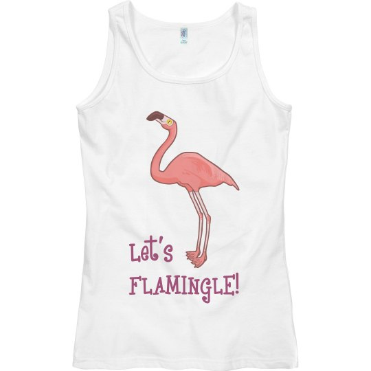 Let's Flamingle Tank