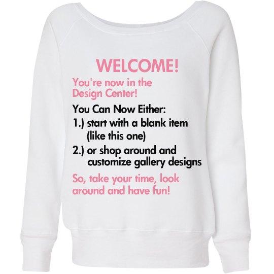 Let's Get Customizing!