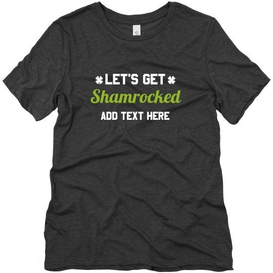Let's Get Shamrocked Crewneck