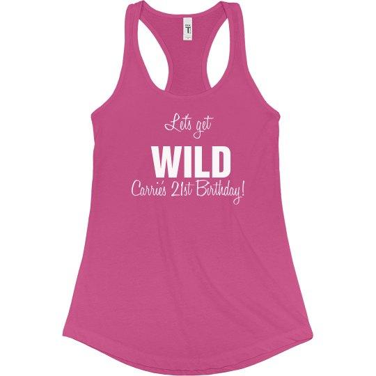 Let's Get Wild Tank