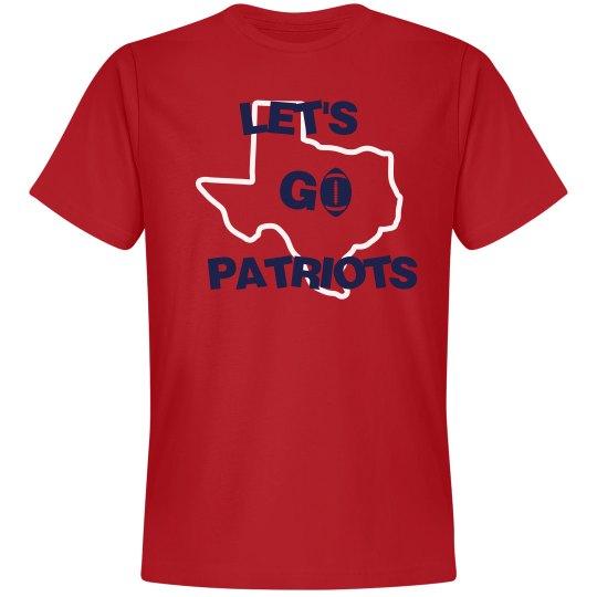 Let's go Patriots
