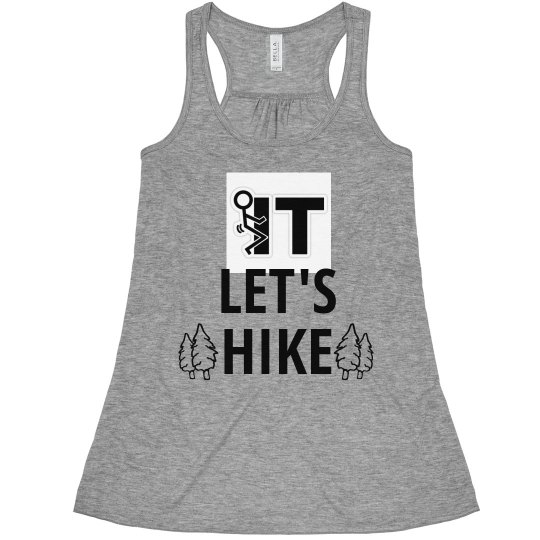 Let's Hike Woman's tank