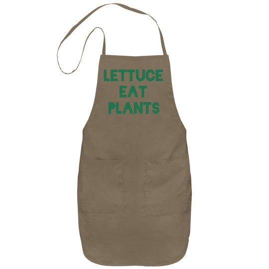 Lettuce eat plants