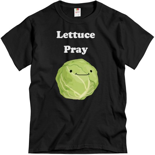Lettuce Pray Men's T-shirt