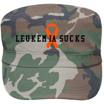 LEUKEMIA SUCKS HAT