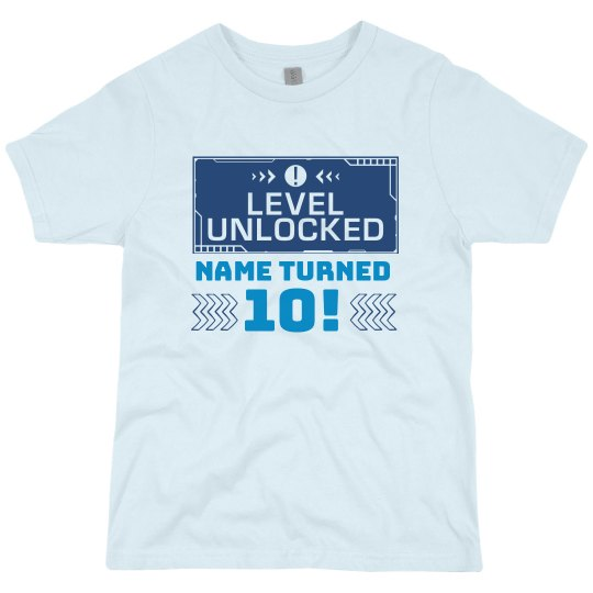 Level Unlocked Pop-Up Guest Tee