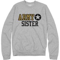 Army Sister Military Pride