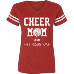 Cheer Mom Of The Secondary Base