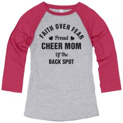 Back Spot Cheer Mom Faith