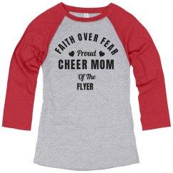 Flyer Cheer Mom Faith