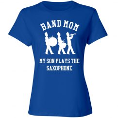 Band Mom Of The Saxophone