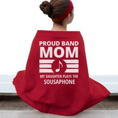 Sousaphone Band Mom's Daughter