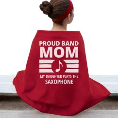 Saxophone Band Mom's Daughter