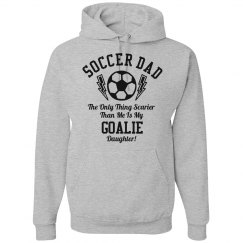 Funny Goalie Soccer Dad