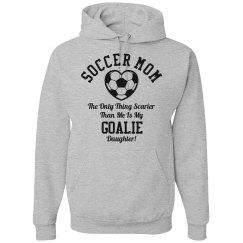 Funny Goalie Soccer Mom