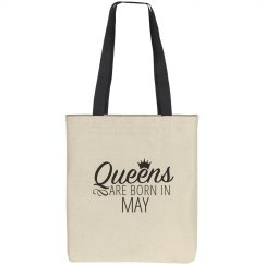 Queens Are Born In May Gift Bag