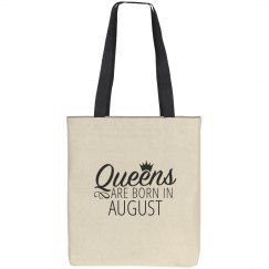 Queens Are Born In August Gift Bag