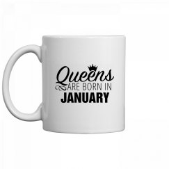 Coffee Queens Are Born In January