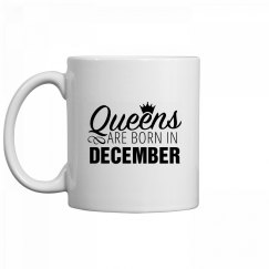 Coffee Queens Are Born In December