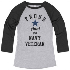 Proud Navy Veteran Aunt