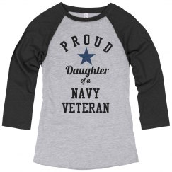Proud Navy Veteran Daughter