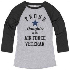 Proud Air Force Veteran Daughter