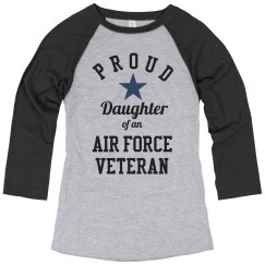 Proud Air Force Veteran Daughter